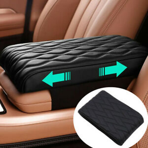 Pu Leather Universal Car Armrest Pad Cover Auto Center Console Box Cushion Mat