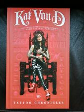 Kat Von D Tattoo Chronicles Hard Back Book