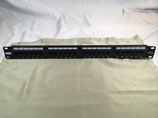 Belkin 24 RJ45 ports Cat5 Patch Panel 1R72; T569A&B wiring