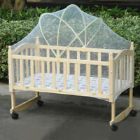 Babies Cradle Crib Arched Mosquito Net Tent Kids Canopy Anti Bug Mesh Curtain