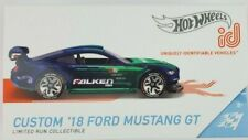 Hot Wheels ID Custom '18 Ford Mustang GT Limited Edition 1/64 Series 2