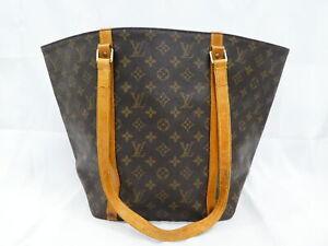 Auth Louis Vuitton Monogram Shopping Tote Bag Shoulder Bag Brown M51108 AUC0055