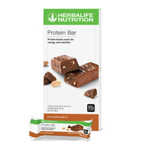 Herbalife Protein Bars Chocolate Peanut Support Your Active Lifestyle Goals