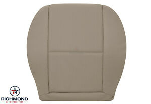 2008-2015 Mercedes Benz GLK SPORT - Driver Side Bottom Leather Seat Cover Tan