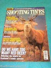 SHOOTING TIMES - FOWLERS v RAMBLERS - JUNE 28 2007