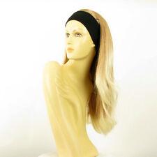 Perruque avec bandeau blond clair cuivré blond clair ref BENEDICTE en 27T613
