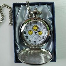 10th DR Doctor Who David Tennant The Master's Fob Watch Metal Pocket Watch
