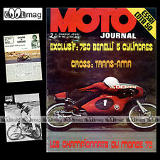 MOTO JOURNAL 90 ANGEL NIETO TRANS-AMA MONTESA COTA GODIER-GENOUD BATACLAN 1972