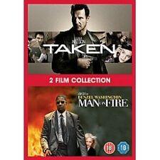 Taken (Liam Neeson) / Man On Fire (Denzel Washington) DVD