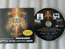 CD-MOTORHEAD-INFERNO-OUT JUNE 21ST-MONSTER MAGNET-GLUECIFE(CD SINGLE)2004-5TRACK