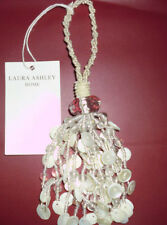 LAURA ASHLEY BEADED AURELIA KEY TASSELS, X2, FREE P&P