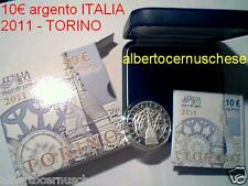 10 euro Italia 2011 Fs BE PP Proof TORINO TURIN Italie Italy Italien Италия
