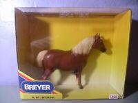 Vintage 1990 Breyer Traditional Horse Shetland Pony Semi Glossy Chestnut 857