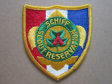 Schiff Scout Reservation BSA Woven Cloth Patch Badge Boy Scouts Scouting