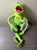 Kermit the frog stuffed animal by Applause Inc. Kermit Collection. Item # 32464.