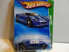 2010 Hot Wheels Treasure Hunt #51 Blue Ford GTX1