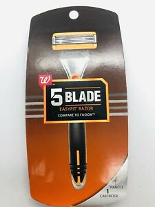 Walgreens 5 BLADE Easyfit RAZOR Compare to Fusion