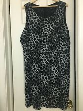 Womens Animal Print Dress Size 18