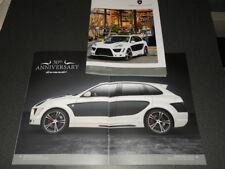 GEMBALLA PORSCHE 958 CAYENNE TORNADO brochure catalogue - édition 2016 rare !!