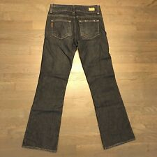 Paige Hidden Hills High Rise Boot Cut Jeans Woman's Size 25