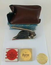 """Vintage """"Official"""" Pocket Seal Notary Public Stamp Stationary Embosser - w/ seal"""