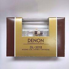 Denon DL-301II 0.4mV Low Output MC cartridge, made in Japan