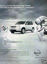 Publicité advertising 2007 Nouveau Nissan X-Trail