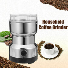 Electric 220V Stainless Steel Grinding Milling Machine Coffee Bean Grinder Burr