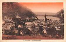 Nantua France Birds Eye View Antique Postcard J61442