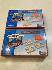 Thomas The Tank Engine & Friends Britt Wooden Track Adapter Pack 1 & 2 New Boxed