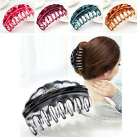 Girl Women's Hair Claws Clamp Clips Hairpin Banana Grips Slides Accessories w/