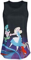 "ALICE in  Wonderland by Disney "" SPOON TANK Top "" T-SHIRT,  NEU, Gr. XL, by Napo"