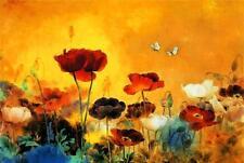 Canvas Floral Asian Art Prints