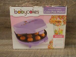 The Original Babycakes Cake Pop & Donut Hole Maker Nonstick Coated