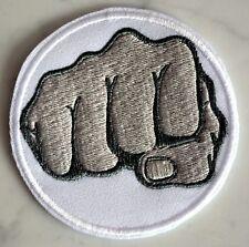 Fist Wh IRONON PATCH Aufnäher Parche brodé patche toppa Fight Combat MMA Karate