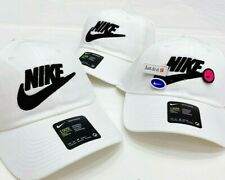 Nike Heritage 86 Women's White Hat - CQ9222-100 - Customizable w/ Patches NEW