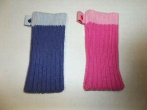 2 Genuine Apple iPod Sock Pink/Purple