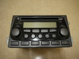 05 2005 Honda Element Radio Stereo MP3 AM FM  CD Player OEM