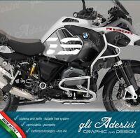 2 Adesivi Fianco Serbatoio Moto BMW R 1200 gs adventure LC 2018 grey line