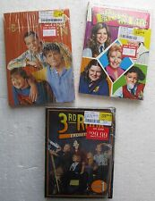 3 TV DVD Sets TWO AND A HALF MEN (5th Season) FACTS OF LIFE (1st/2nd) 3RD ROCK 1