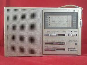 Nanational Panasonic RF 788 Shortwave Radio Fully working used condition