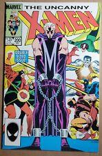 New listing Uncanny X-Men 200 Marvel Comic Book / Cyclops & Storm Return / Trial of Magneto