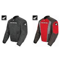 2018 Joe Rocket Mens Honda CBR Mesh Motorcycle Jacket - Pick Size/Color