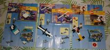 LEGO System lot of 3: 1246 Helicopter 1247 police patrol Car 1250 Dragster racer