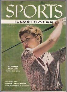 Sports Illustrated 1956 Barbara Romack Golf No Label