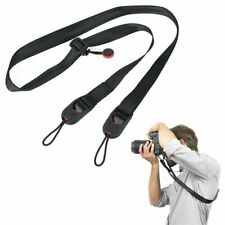 Quick Release Camera Cuff Neck Wrist Strap Sling Buckle Slide Leash Shoulder