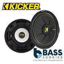 "KICKER 44CWCS154 15"" 38cm 1200 Watts Single Voice Coil Car Van Boot Subwoofer"