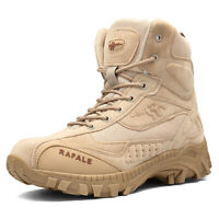 Men's Tactical Cadet Security Military Police Hiking Army Patrol Combat Boots