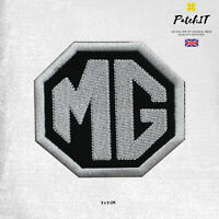 MG Motor Car Brand Logo Patch Iron On Patch Sew On Badge Embroidered Patch