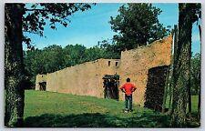 Angel Mounds State Park in Evansville, Indiana Vanderburgh Chrome Postcard Used